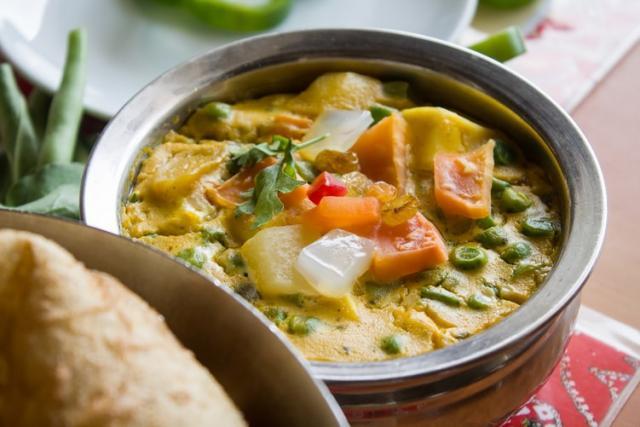 Recipe: Creamy vegetarian panang curry