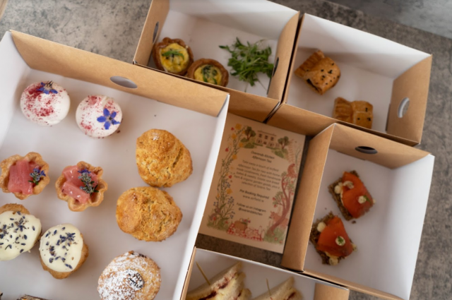 New afternoon tea from Overends Kitchen at Airfield Estate, Dundrum