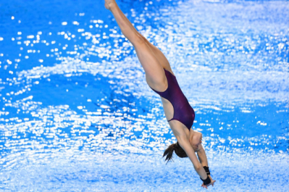 Tanya Watson becomes Ireland's first female diver to qualify for the Olympics