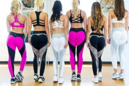Meet the woman behind Peachy Leans must-have colourful gymwear