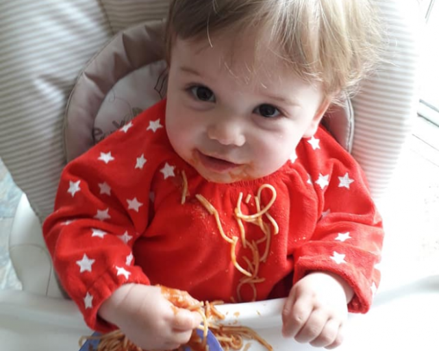Weaning advice for babies with sensitive skin