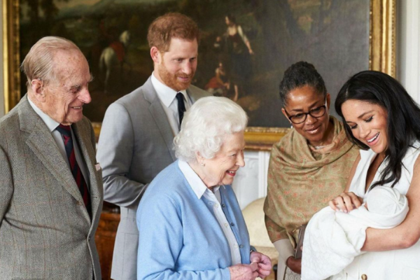 The Queen, Prince William & Kate share birthday tributes as Archie turns two