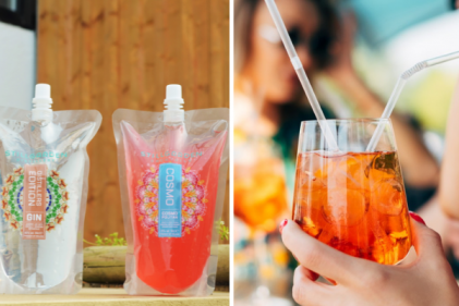These delicious ready-made cocktail pouches are the perfect summer beverage