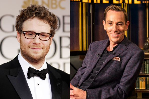Seth Rogen leads stellar line-up on tomorrow nights Late Late Show