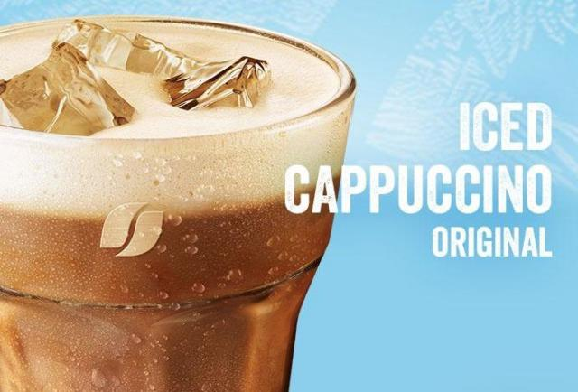 New low-cal, low fat refreshing iced coffees have arrived.