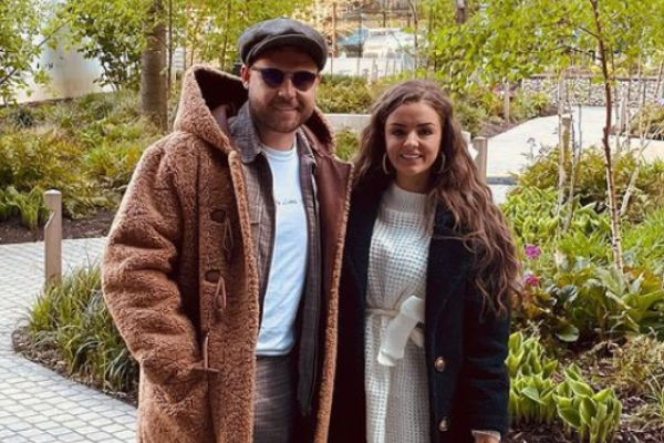 Emmerdale star Danny Miller is expecting his first baby with fiancé Steph Jones