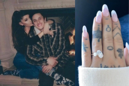 Ariana Grande is officially married after small ceremony with Dalton Gomez