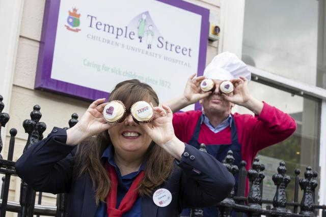 Tesco calls on shoppers to support this year's Great Irish Bake in aid of Temple Street
