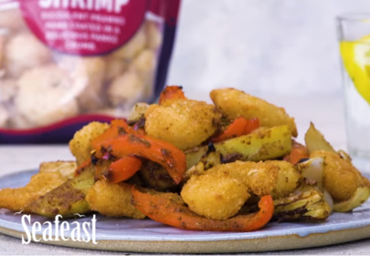 Seafeast Luxury Breaded Shrimp Spice Bag