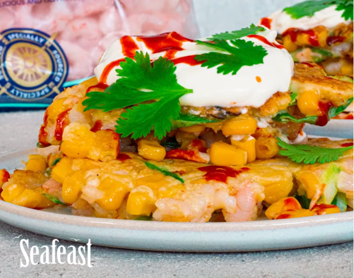 Seafeast Prawn and Corn Fritters