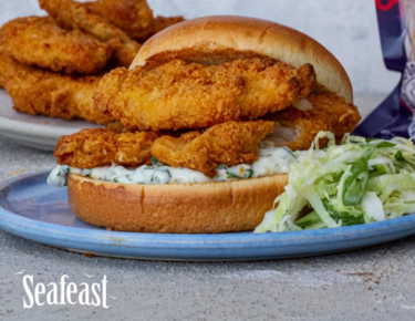 Seafeast Crispy Fish Goujon Sandwich