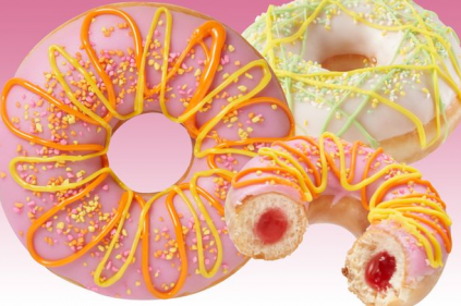 Krispy Kreme have crafted limited-edition zesty new Colours of Summer doughnuts!