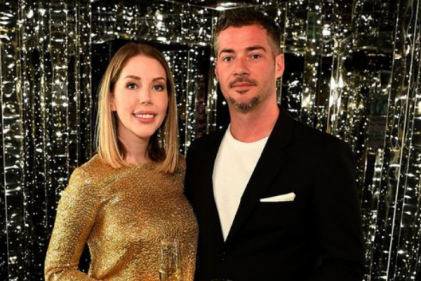 Katherine Ryan unveils glowing baby bump as she announces pregnancy with baby #2