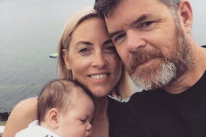 Kathryn Thomas felt mum-guilt for going back to work 8 weeks after giving birth