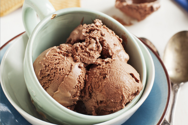 Recipe: This chocolate & clementine sorbet only requires 4 ingredients