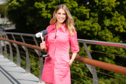 Irish actress Amy Huberman launches a brand new parenting podcast