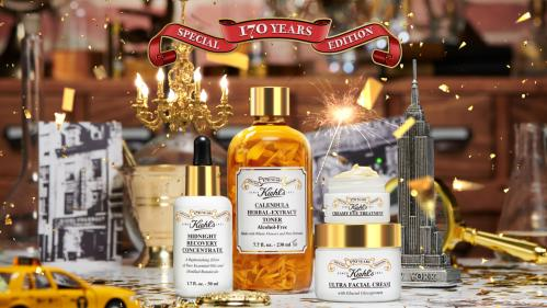Kiehls 170 year history inspired its new limited edition collections