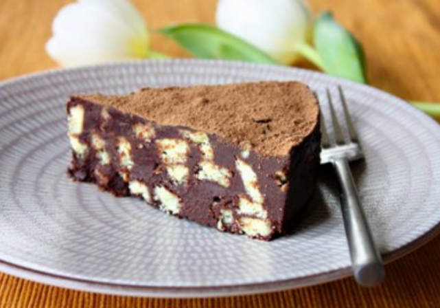 Recipe: This basic chocolate biscuit cake is a firm family favourite