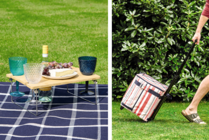 Aldi launch a mega picnic range with foldable tables, lush blankets, a cocktail kit & more!