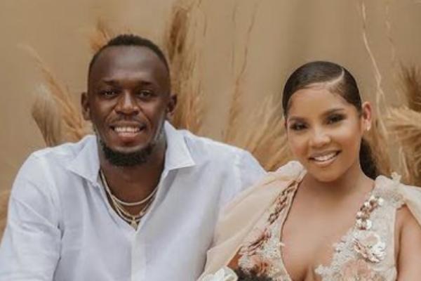 Usain Bolt & girlfriend Kasi share first gorgeous photos of their newborn twins