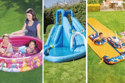 Splish-Splash: Aldi are selling a mega range of pools for your back garden