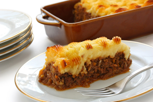 Chilli beef shepherds pie