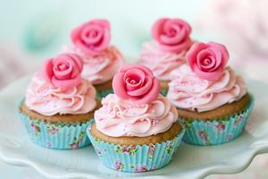 Sugarpaste roses