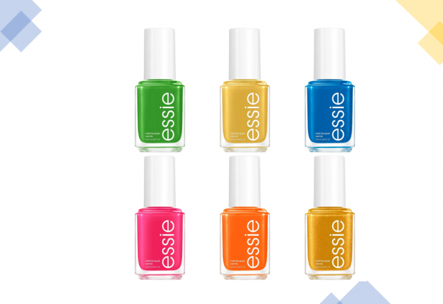 Brighten up your summer with the new nail collection by Essie