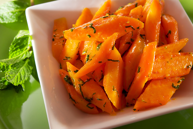 Buttery caraway carrots