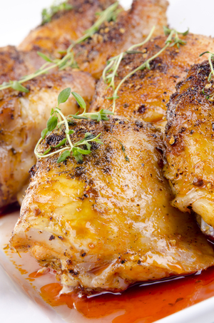 Gluten free masala roast chicken and squash