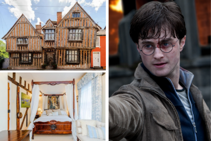 Check out Harry Potter's original childhood home in Godric's Hollow on airbnb