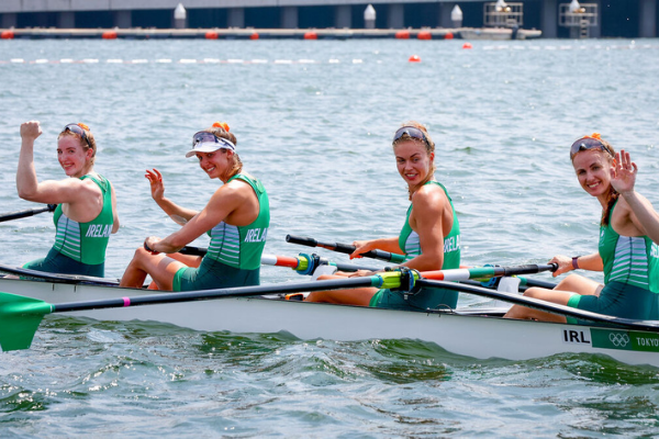 Ireland win their first Olympic medal at Tokyo as female rowers take home bronze