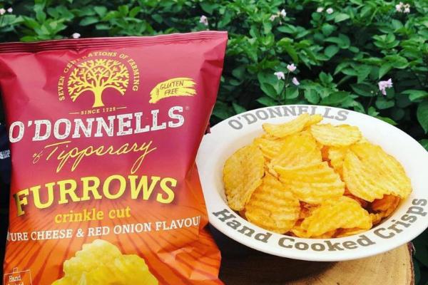 Crisp addicts get excited! O'Donnells release new range of crinkle-cut crisps