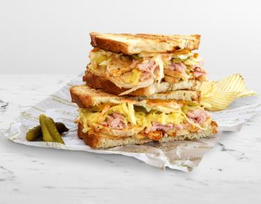 """O'Brien's Sandwich Cafes launches the new """"Backyard BBQ Chicken Melt"""" - we need it now!"""