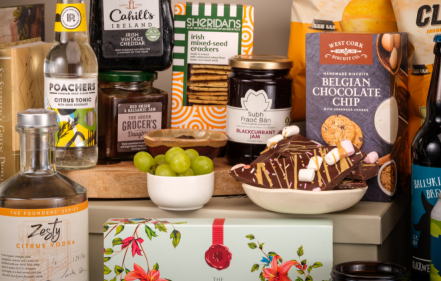 """Guaranteed Irish collabs with """"The Green Grocer's Daughter"""" to unveil new luxury hamper range"""
