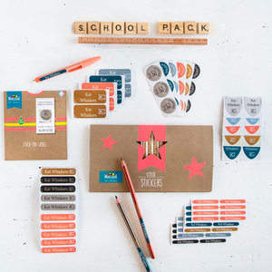 Win a School Label Pack from Mine4Sure
