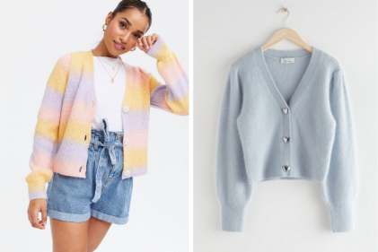 Fashion Finds! 8 cool cardigans to add to your summer/autumn wardrobe