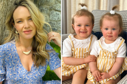 Aoibhín Garrihy shares adorable video of daughters meeting their baby sister