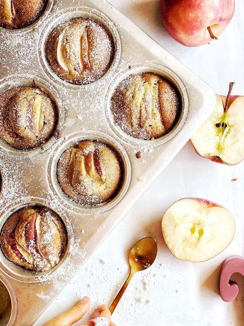 Yummy apple cupcakes