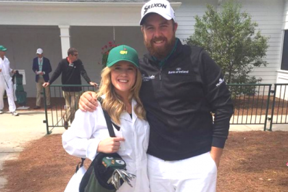 It's a girl! Irish golfer Shane Lowry shares beautiful snap of his new daughter
