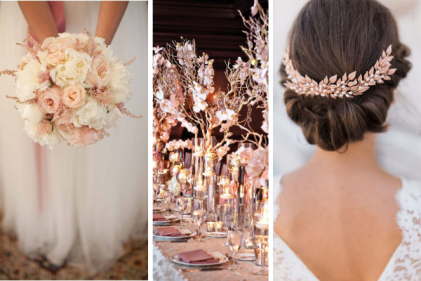 Rose gold wedding theme: 12 FAB ideas from decorations to dresses