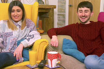 Gogglebox's Pete Sandiford is now a dad as fiancée Paige welcomes first child