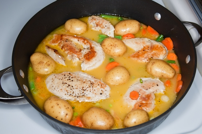 Really quick chicken casserole
