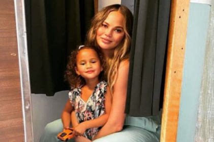 Chrissy Teigen shares real and relatable post about miscarriage recovery