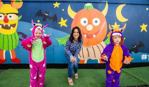 Trick or treat this Halloween and help sick children