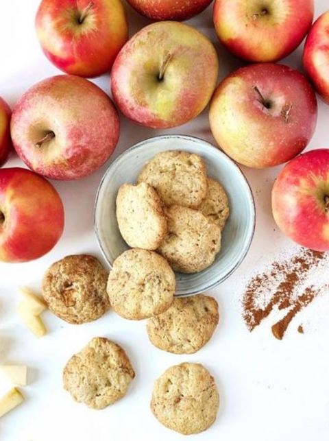 Apple biscuits - the perfect snack