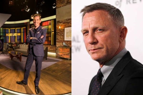 Daniel Craig leads star studded line-up on tomorrow's Late Late Show