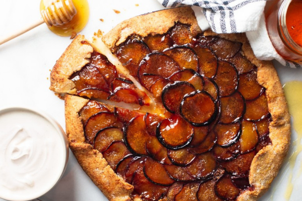 Weekend Bake: This seasonal plum and ginger pie is the perfect autumn recipe