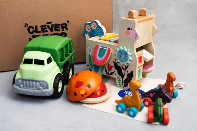 Clever Tots Toy Club launches – the first sustainable toy club in Ireland