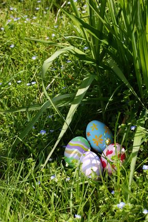 Easter egg treasure hunt